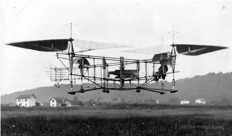 Краткая история квадрокоптеров