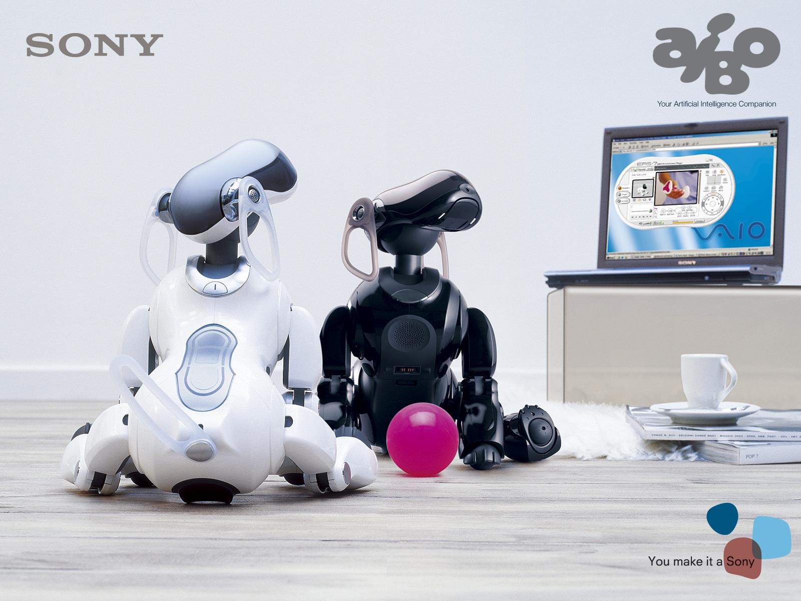 Робот-собака Aibo имитация или новая форма жизни