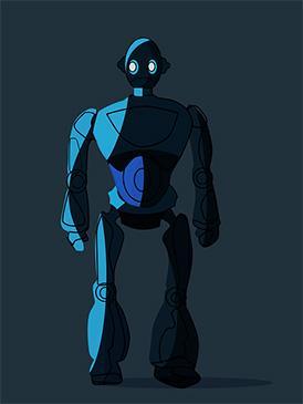 Роботы в анимации