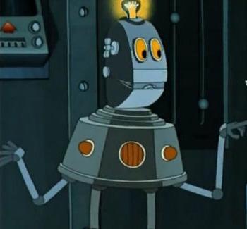 Робот с планеты Шелезяка